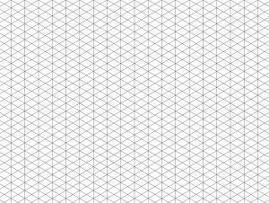 branding - grid-isometric-portrait-letter