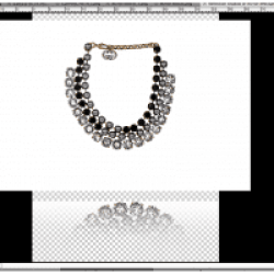 Reflection shadow - Jewelry Retouching services